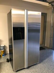 Fridge freezer large 2 door