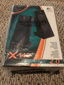 Logitech X-140 Dynamic Bass Computer Speakers