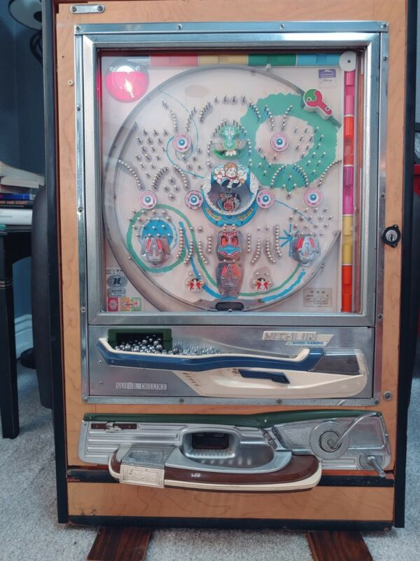 Very Clean Fun to Play 1975 Nishijin Model B Pachinko Machine