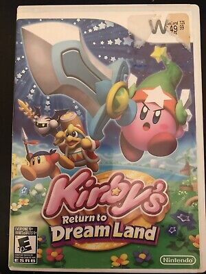 Kirby's Return to Dream Land (Nintendo Wii, 2011) Complete CiB!  tested!  A3
