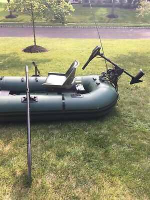 Sea Eagle 285 Inflatable Pontoon Fishing Boat----------see photos