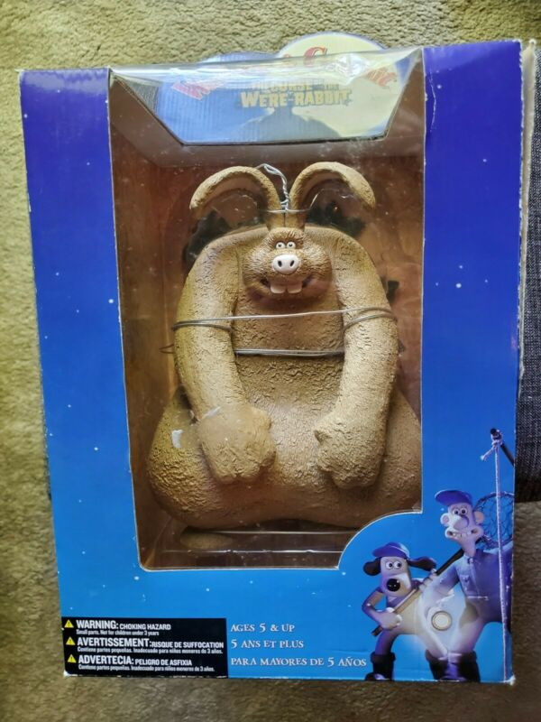 "Wallace & Gromit, The Curse of the Were-Rabbit - Were-Rabbit 10"" Figure, NRFB"