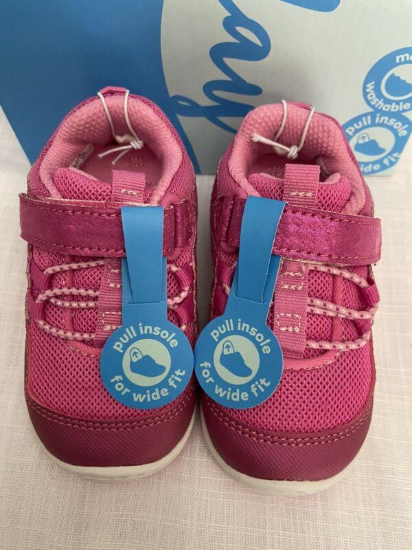 Stride Rite keegan Pink Toddler Girls Shoes Sandal US size 3M, 5M