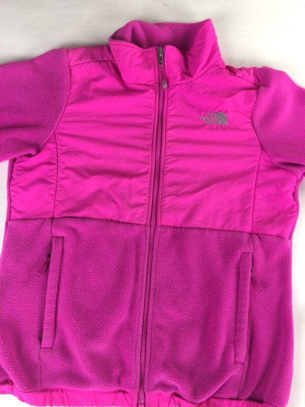 The North Face Pink Girls XL TG 18 Fleece Zipper Jacket