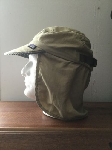 Vintage Patagonia Made in USA Fishing Duckbill Strap-back Hat