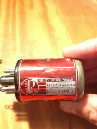 Altec Peerless 15095 Audio Transformer