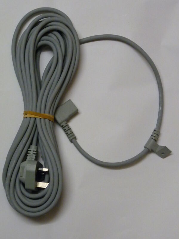 New Kirby Mains Power Lead Ultimate G G7 models Grey for G3 Generation 3
