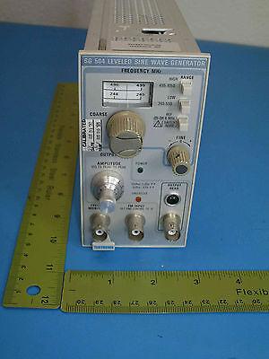 Tektronixsg504 Leveled Sine Wave Generator245 - 1050 Mhznsn 6625-00-531-5143