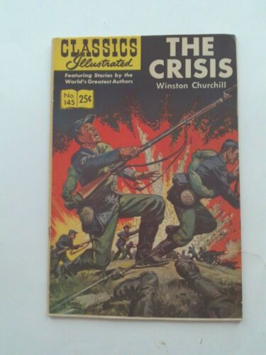 Classics Illustrated #145 - THE CRISIS - HRN 166 VG