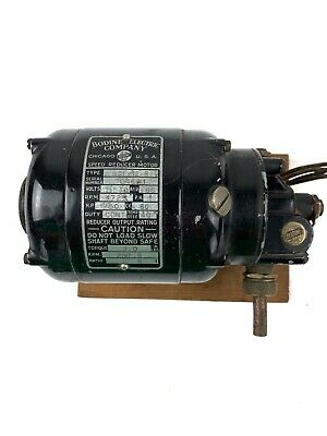 Bodine Electric Company Speed Reducer Motor Nsi-12r 150 Hp 1725 Rpm