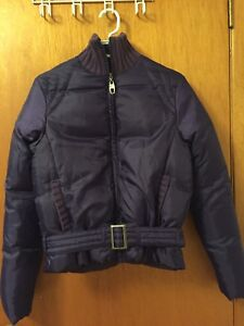 Ladies' belted jacket, Small - like new