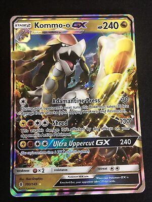 Kommo-o GX Guardians Rising 100//145 Pokemon TCG NM