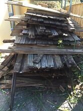 Free Hardwood fencing post ,rail, and palings Strathfield Strathfield Area Preview