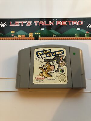 Tom And Jerry In Fists Of Furry Nintendo N64 Pal Cart Only TESTED