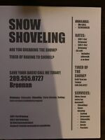 Snow Removal Shoveller Blower Available!