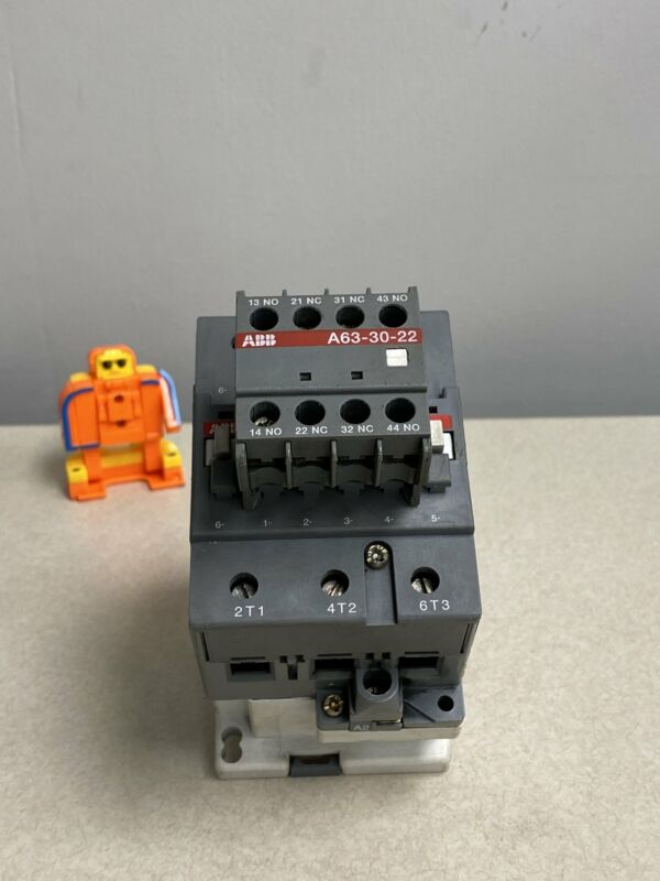 ABB A63-30-22 Power Switch Contactor (Used)