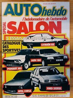 AUTOhebdo - Année 1982 - Lot n°2 de 3 n° - Très bon état