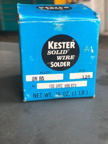 Kester Solid Wire Solder