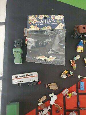 Assorted Mini Models For A Train Set