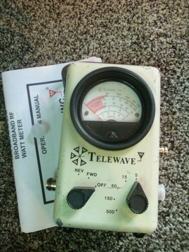 Telewave 44A 44AP Thruline Watt Meter / Bird 43 4304A Type