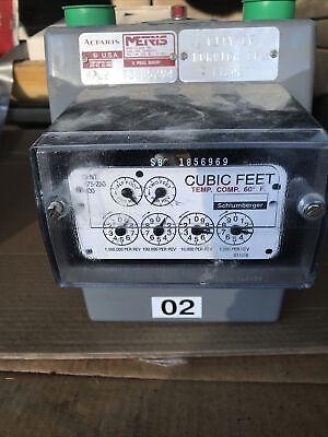 Metris Gas Meter Class 250 Model 250 Sub Meter -natural Gas Meter