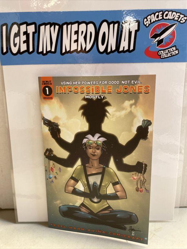 Impossible Jones #1 Howard Chaykin Yen CBSN Variant Scout Comics