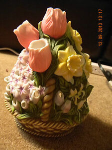 Partylite-Floral-Bouquet-Tealight-Holder-P7747-Flower-Candle
