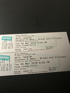 Stephen K Amos Fringe Tickets
