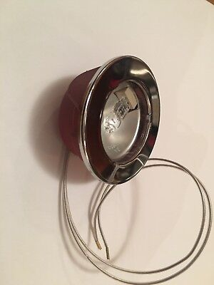 Range Hoods HALOGEN light 20W 12V Chrome ring Made in Italy