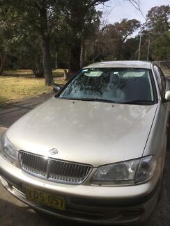 2002 Nissan Pulsar Sedan Picton Wollondilly Area Preview
