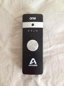 Apogee One with built in mic for ios Bundall Gold Coast City Preview