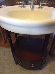 Vanity/sink/taps