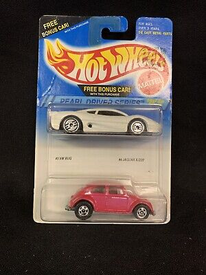 Hot Wheels Double Pack Pearl Driver Series # 3 VW Bug & # 4 Jaguar XJ220