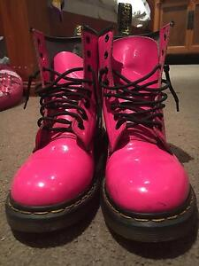Hot Pink Patent Doc Martens US Size 9 Hope Island Gold Coast North Preview