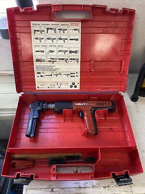Hilti Dx351 Powder Actuated Tool Nail Gun Fastener With X-mx32 Bb13