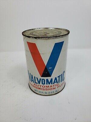Vintage Valvoline Valvomatic ATF    Motor Oil 1 QT. Oil Can Full comprar usado  Enviando para Brazil