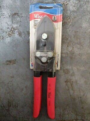 Wiss Hc-3 Sheet Metal Pipe Hand Crimper Tool Pliers Compound Soft Usa Made