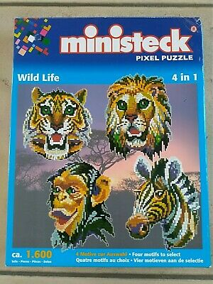 MINISTECK PIXEL PUZZLE WILD LIFE for sale  Shipping to Nigeria