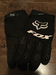 Fox dirt bike gloves