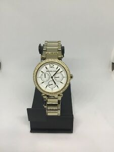 MICHAEL KORS Parker Chronograph Gold-Tone Ladies Watch #5780