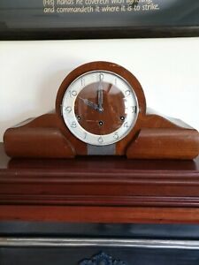 mantel clock 1952 westminster chime