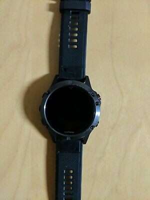 Garmin Fenix 5, 47mm GPS Watch + Band Bundle