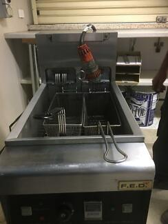Electric commercial fryers x 2