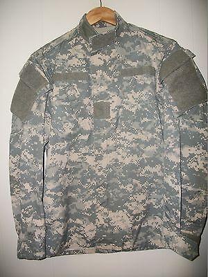 military BDU Shirt/Coat small/long combat digital Camo propper  rip stop /nylon Camo Propper Bdu Shirt