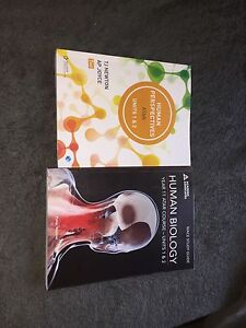 Year 11 atar Human biology books!! Ballajura Swan Area Preview