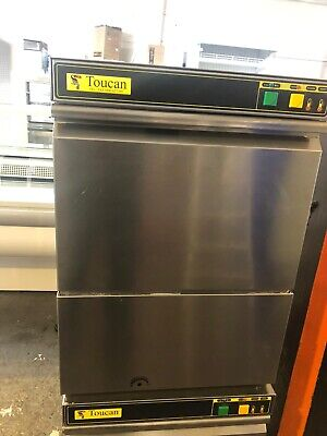 Toucan - TG240 - Commercial - Glass Washer - Stainless Steel