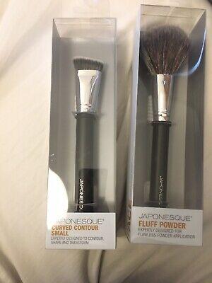 JAPONESQUE Brushes X 2, Contour + Powder Brush Both BNIB GREAT GIFT UK BASED