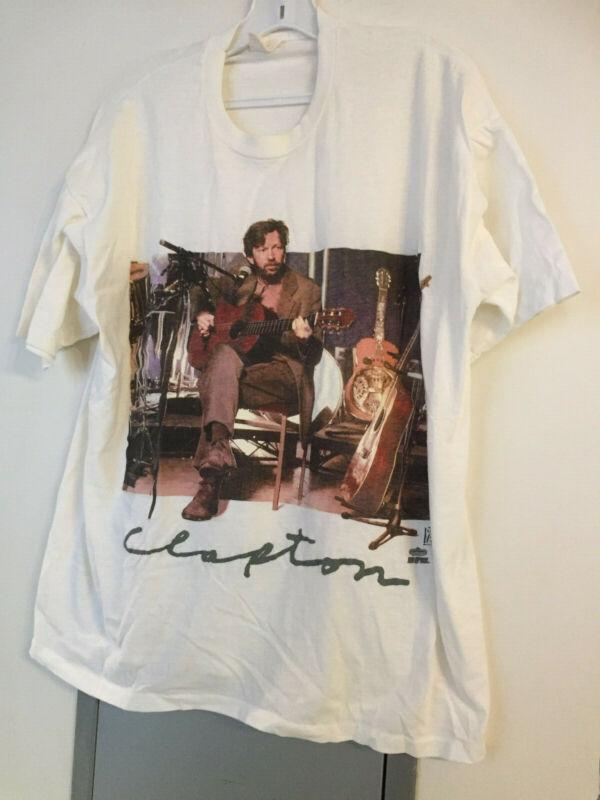 Vintage Eric Clapton 1992 Tour Backstage Pass T-shirt - Size 2XL ...