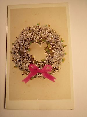 Kranz aus Blumen - Blumenkranz / CDV