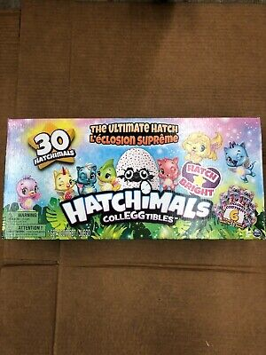 NEW OPEN BOX Hatchimals Season 4 CollEGGtibles The Ultimate Hatch 30-Pack